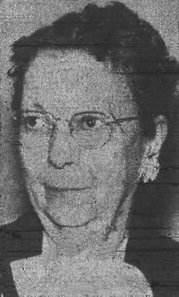 """Elizabeth """"Lizzie"""" (Boright) Eisenhauer"""