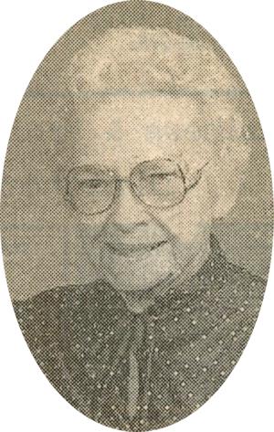 Vera Grace (Baker) Luthye