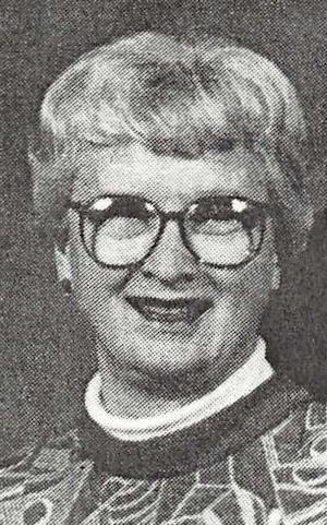 Velva Elaine (Treadway) Newton