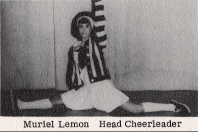 Muriel Lemon - Head Cheerleader 1965